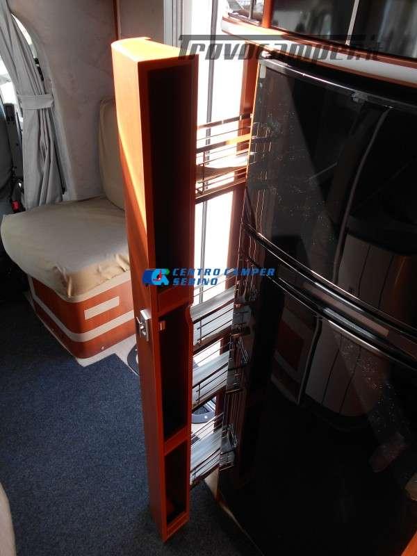 Noleggio Mobilvetta Kea M 79 camper mansardato con letto nautico e garage usato  in vendita a Brescia - Immagine 23