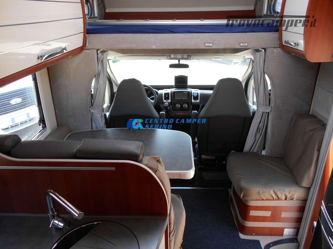 Noleggio Mobilvetta Kea M 79 camper mansardato con letto nautico e garage usato  in vendita a Brescia - Immagine 14