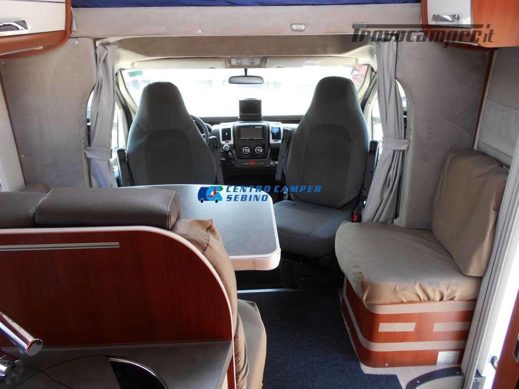 Noleggio Mobilvetta Kea M 79 camper mansardato con letto nautico e garage usato  in vendita a Brescia - Immagine 18