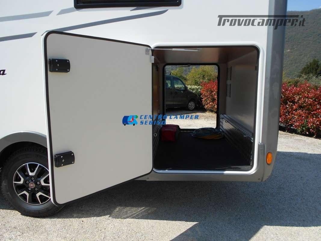 Noleggio Mobilvetta Kea M 79 camper mansardato con letto nautico e garage usato  in vendita a Brescia - Immagine 5