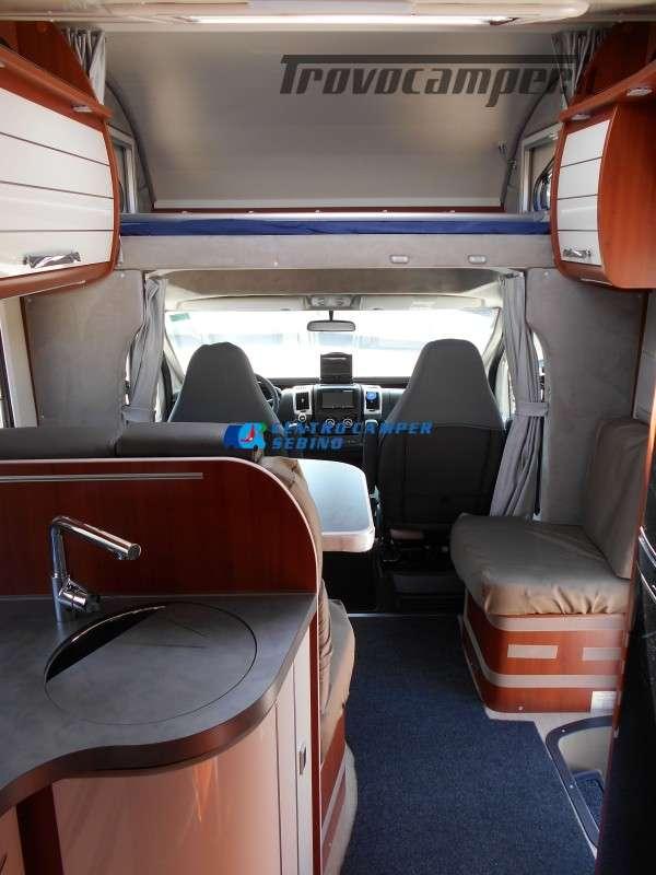 Noleggio Mobilvetta Kea M 79 camper mansardato con letto nautico e garage usato  in vendita a Brescia - Immagine 17