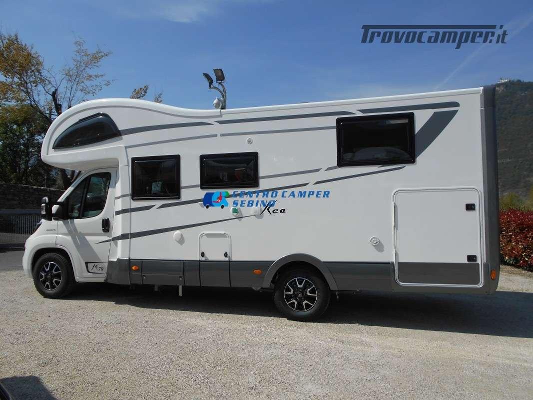 Noleggio Mobilvetta Kea M 79 camper mansardato con letto nautico e garage usato  in vendita a Brescia - Immagine 4