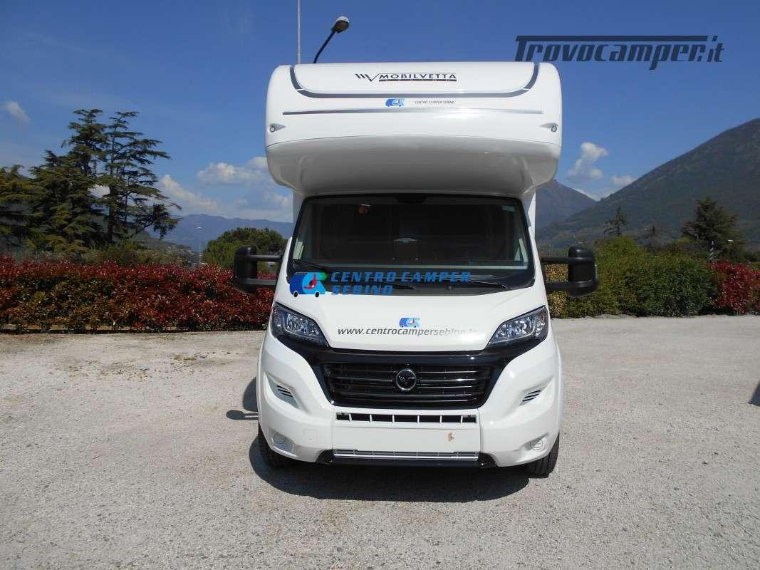 Noleggio Mobilvetta Kea M 79 camper mansardato con letto nautico e garage usato  in vendita a Brescia - Immagine 2