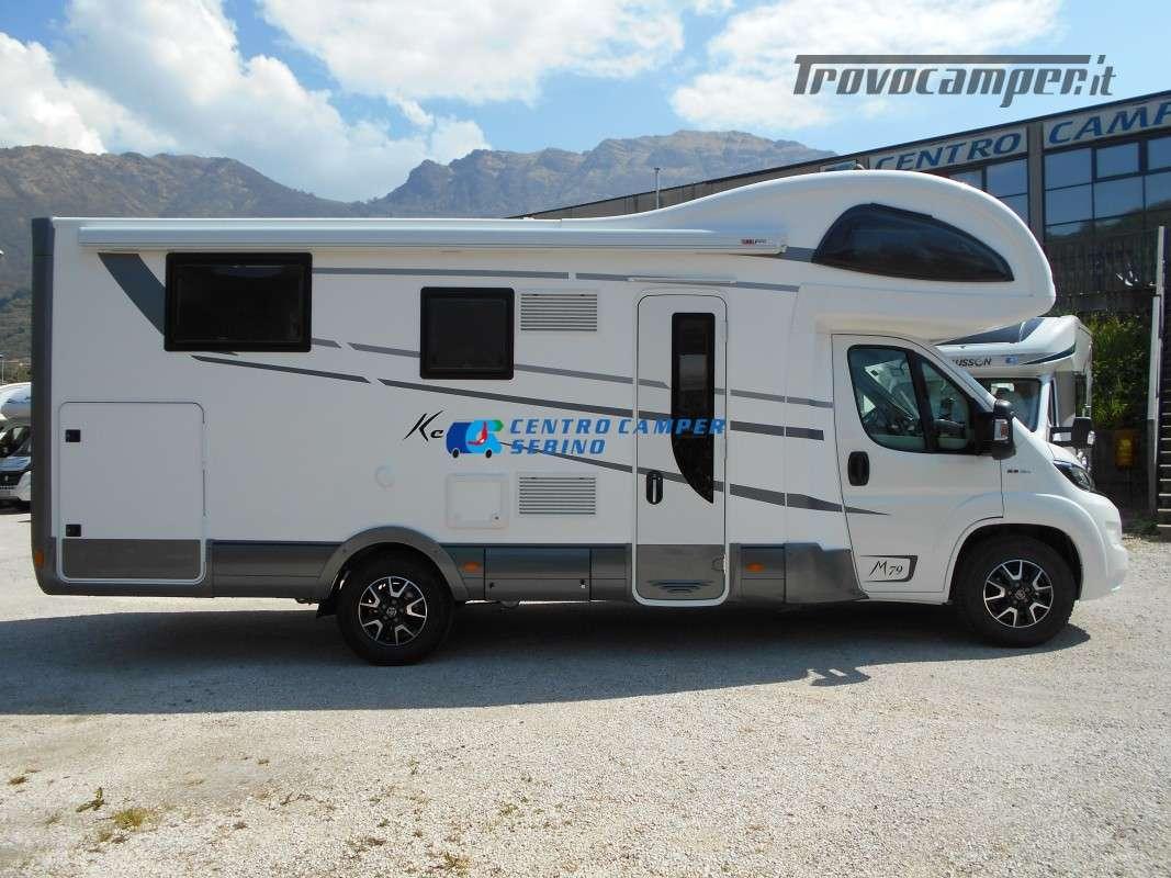 Noleggio Mobilvetta Kea M 79 camper mansardato con letto nautico e garage usato  in vendita a Brescia - Immagine 9