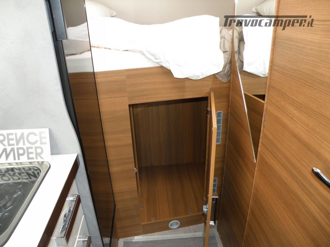 CAMPER PRONTA CONSEGNA SEMINTEGRALE ELNAGH BARON 531 usato  in vendita a Prato - Immagine 7