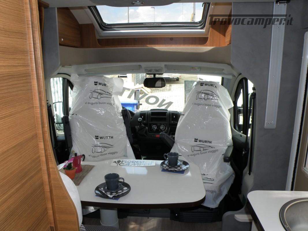 CAMPER PRONTA CONSEGNA SEMINTEGRALE ELNAGH BARON 531 usato  in vendita a Prato - Immagine 14