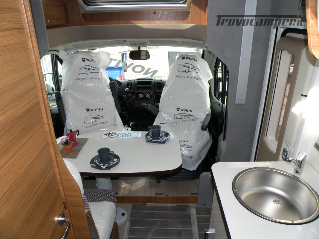 CAMPER PRONTA CONSEGNA SEMINTEGRALE ELNAGH BARON 531 usato  in vendita a Prato - Immagine 16