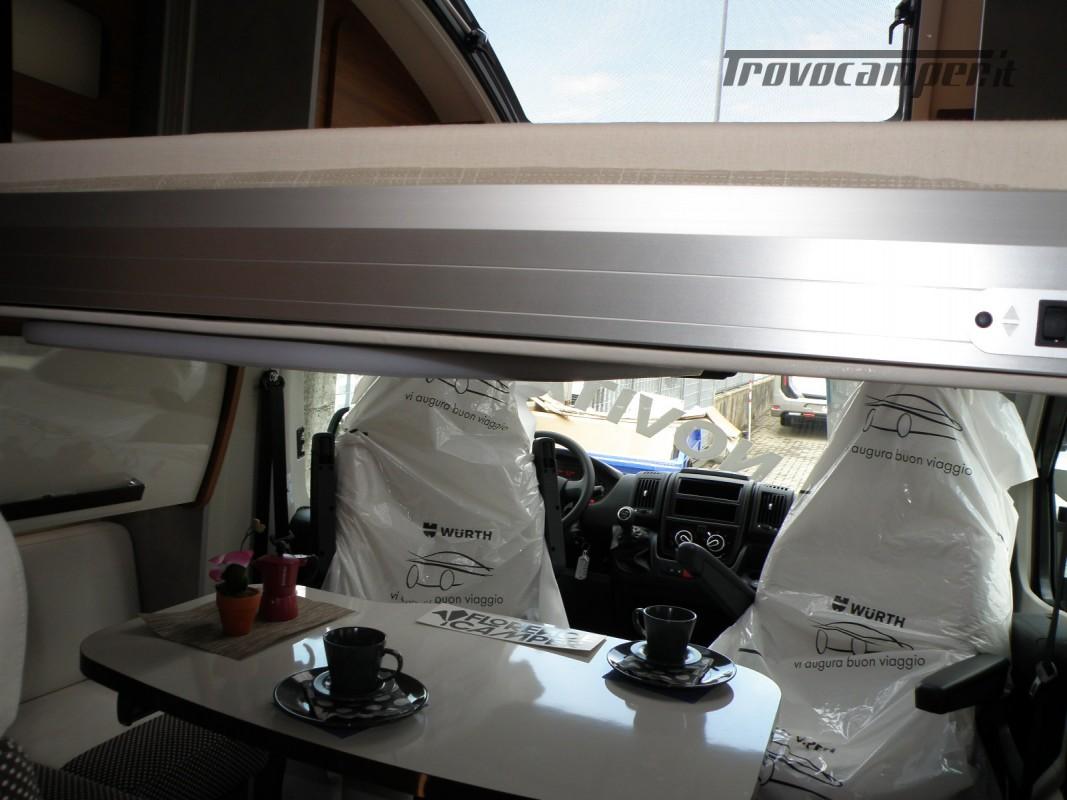 CAMPER PRONTA CONSEGNA SEMINTEGRALE ELNAGH BARON 531 usato  in vendita a Prato - Immagine 20