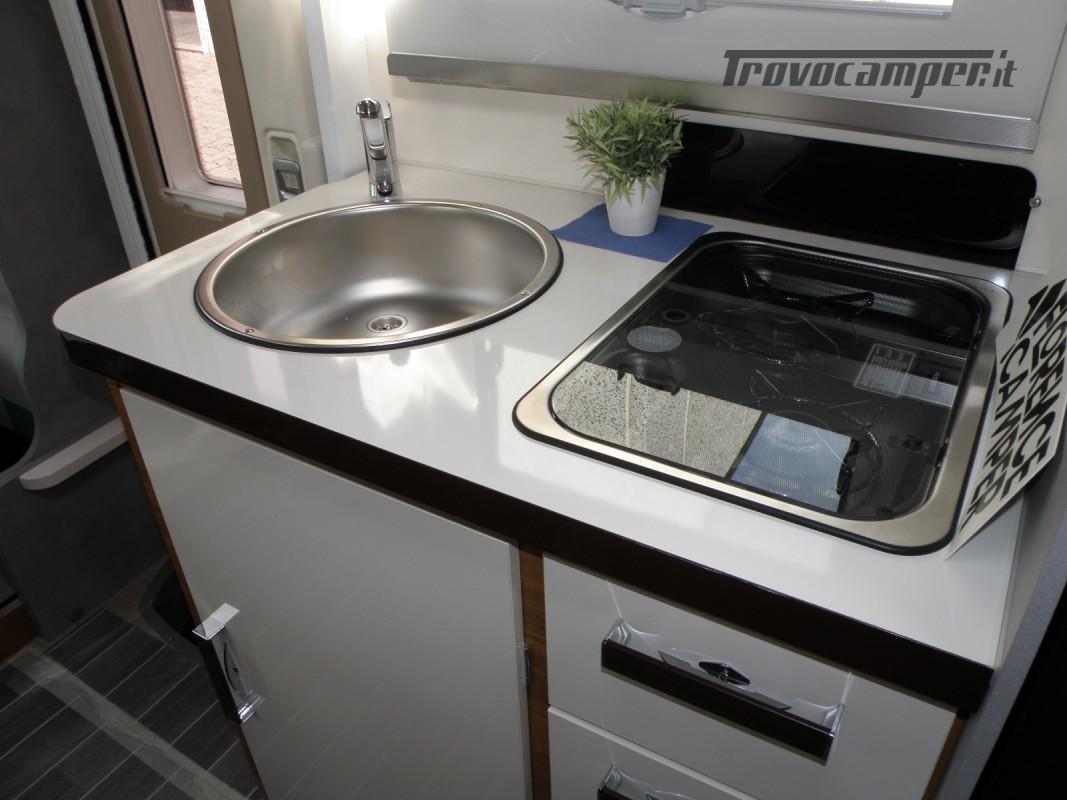 CAMPER PRONTA CONSEGNA SEMINTEGRALE ELNAGH BARON 531 usato  in vendita a Prato - Immagine 21