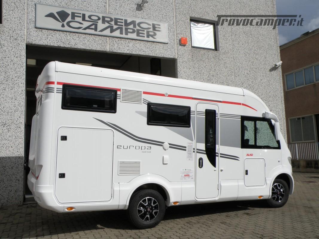 MOTORHOME ARCA H 640 GLM IN PRONTA CONSEGNA LETTO MATRIMONIALE nuovo  in vendita a Prato - Immagine 4