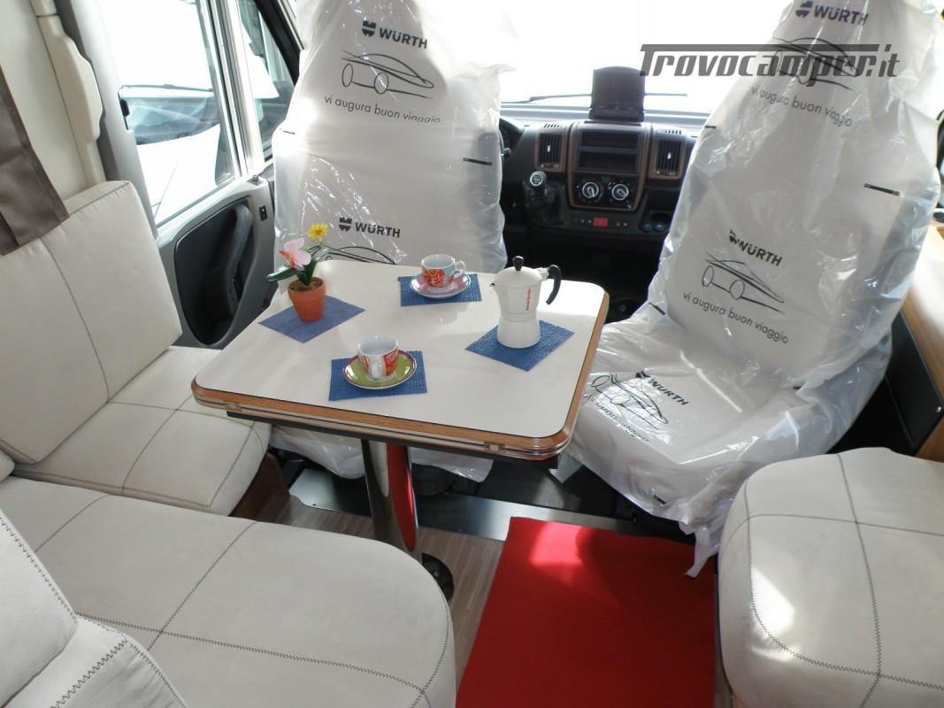 MOTORHOME ARCA H 640 GLM IN PRONTA CONSEGNA LETTO MATRIMONIALE nuovo  in vendita a Prato - Immagine 14