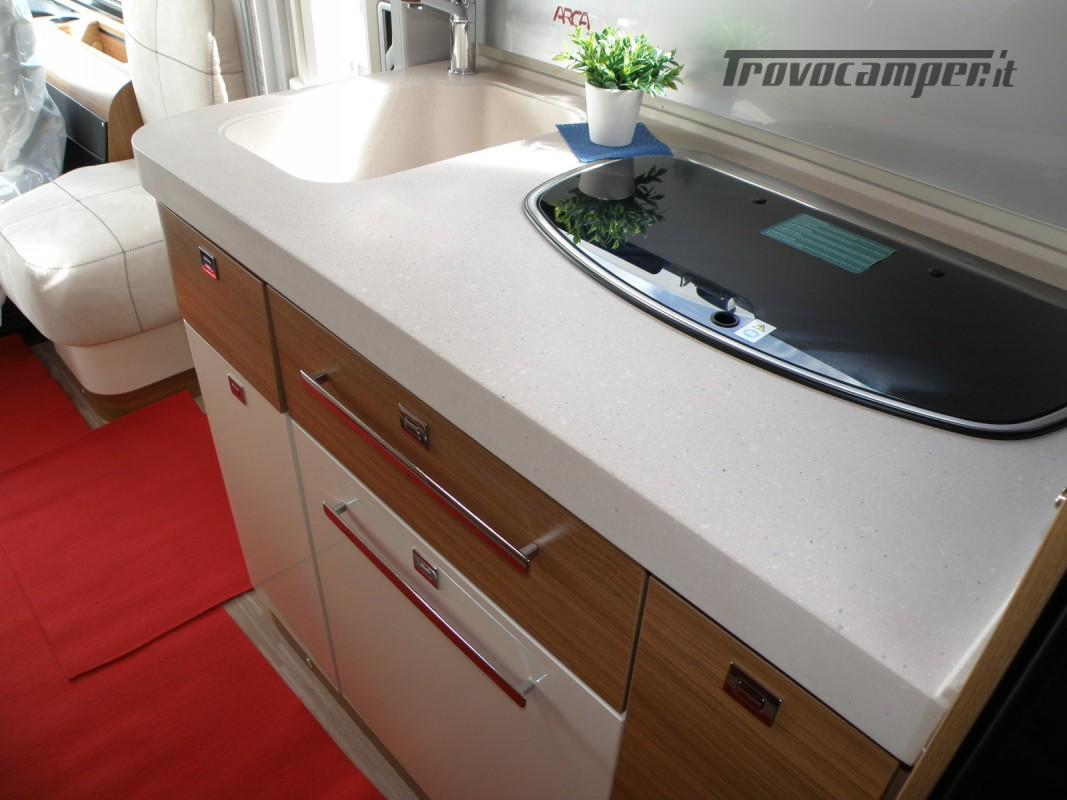 MOTORHOME ARCA H 640 GLM IN PRONTA CONSEGNA LETTO MATRIMONIALE nuovo  in vendita a Prato - Immagine 15