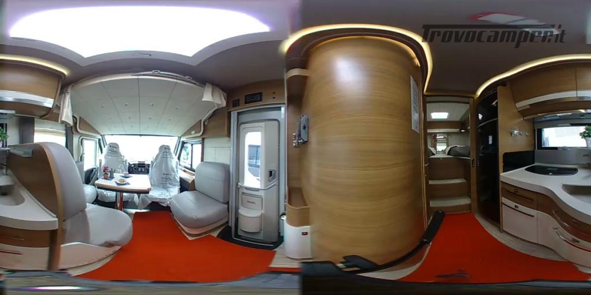 CAMPER MOTORHOME ARCA H 699 PRONTA CONSEGNA usato  in vendita a Prato - Immagine 6