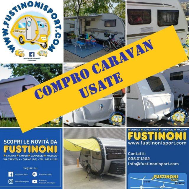 Roulotte KNAUS ACQUISTO CARAVAN USATE- FUSTINONI usato  in vendita a Bergamo - Immagine 12