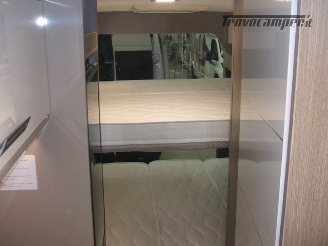 FURGONATO VANY 114 MAX VIP 02-2021 KM 500 nuovo  in vendita a Ancona - Immagine 9