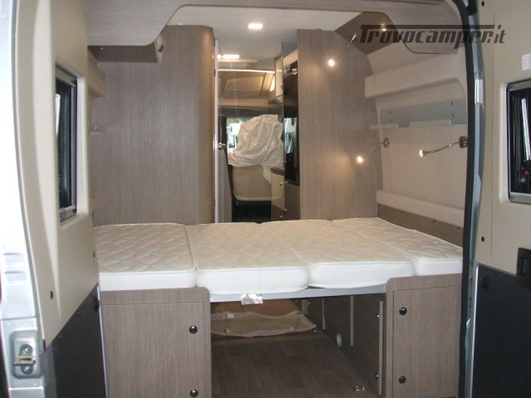 FURGONATO VANY 114 MAX VIP 02-2021 KM 500 nuovo  in vendita a Ancona - Immagine 10