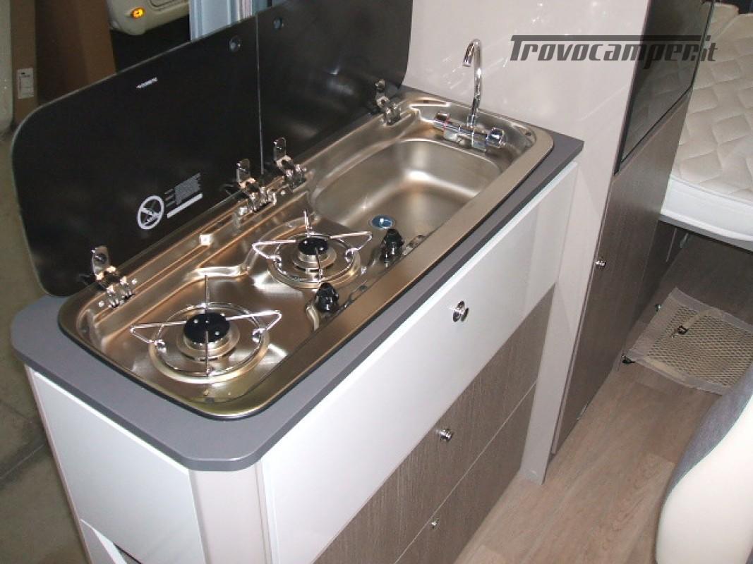FURGONATO VANY 114 MAX VIP 02-2021 KM 500 nuovo  in vendita a Ancona - Immagine 12