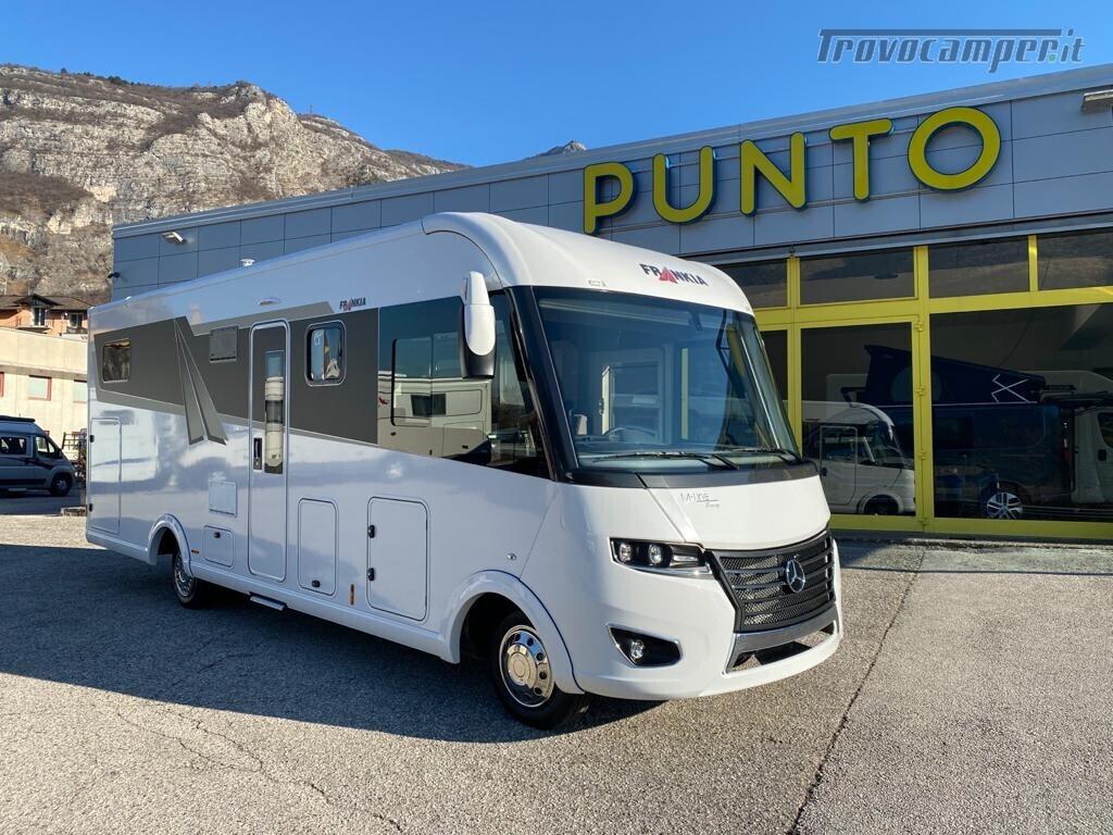 Motorhome Frankia I 7900 gd letti gemelli con doppio pavimento usato  in vendita a Trento - Immagine 1