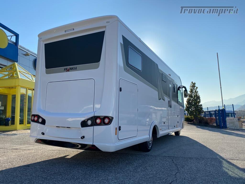 Motorhome Frankia I 7900 gd letti gemelli con doppio pavimento usato  in vendita a Trento - Immagine 2