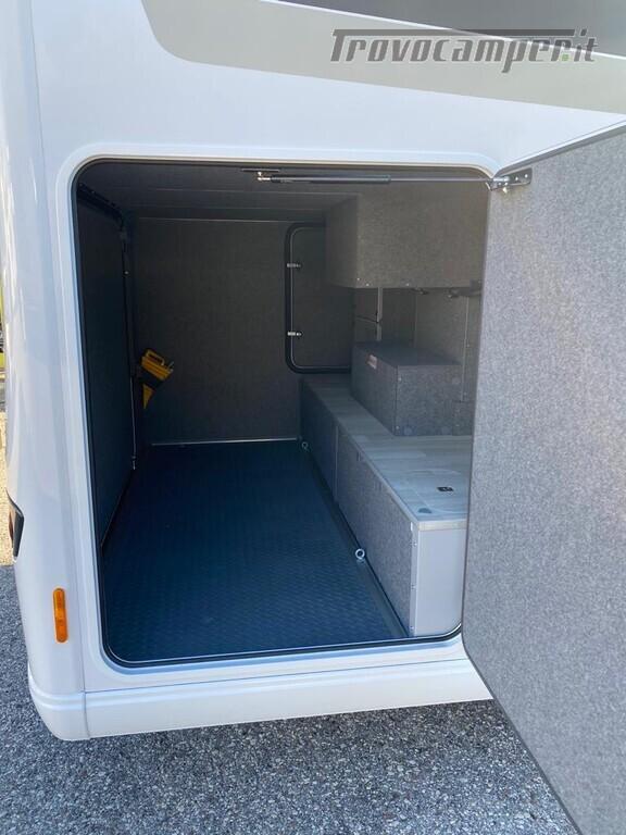 Motorhome Frankia I 7900 gd letti gemelli con doppio pavimento usato  in vendita a Trento - Immagine 3