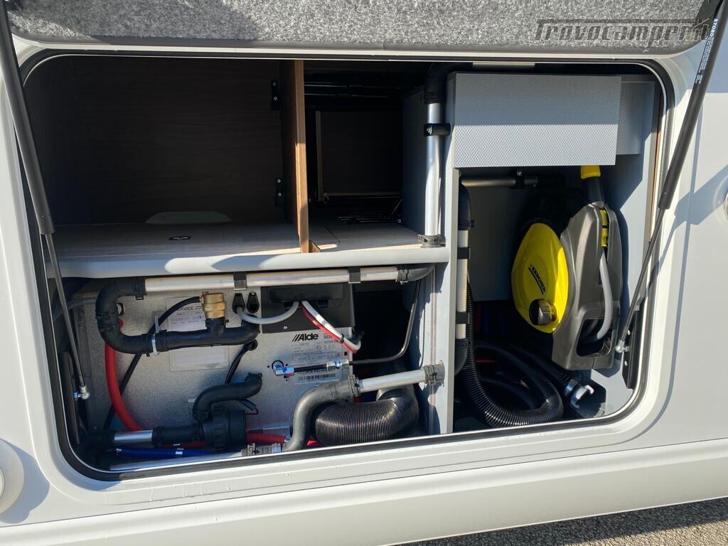 Motorhome Frankia I 7900 gd letti gemelli con doppio pavimento usato  in vendita a Trento - Immagine 5