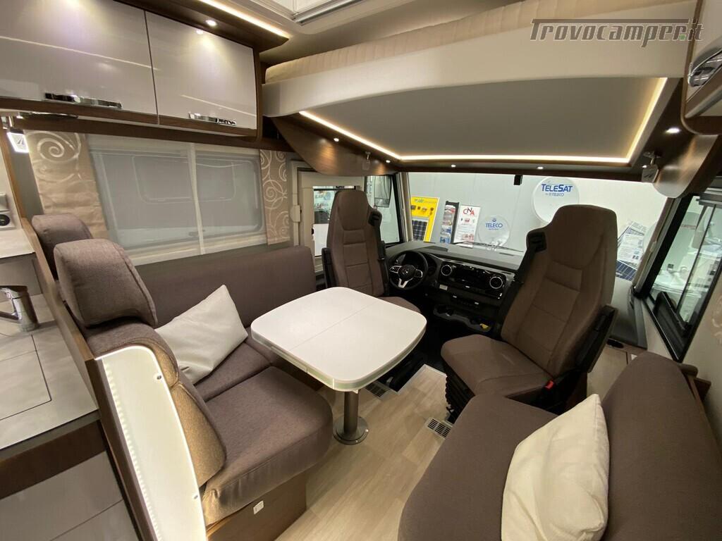 Motorhome Frankia I 7900 gd letti gemelli con doppio pavimento usato  in vendita a Trento - Immagine 6