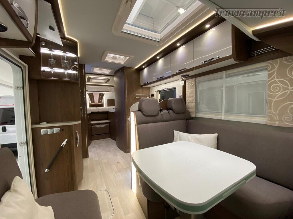 Motorhome Frankia I 7900 gd letti gemelli con doppio pavimento usato  in vendita a Trento - Immagine 7