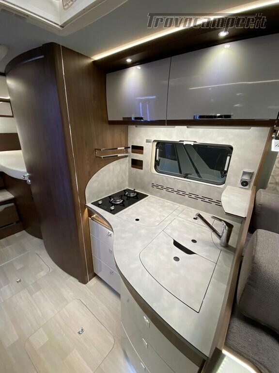 Motorhome Frankia I 7900 gd letti gemelli con doppio pavimento usato  in vendita a Trento - Immagine 9