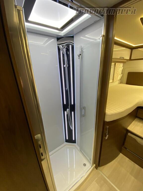 Motorhome Frankia I 7900 gd letti gemelli con doppio pavimento usato  in vendita a Trento - Immagine 11
