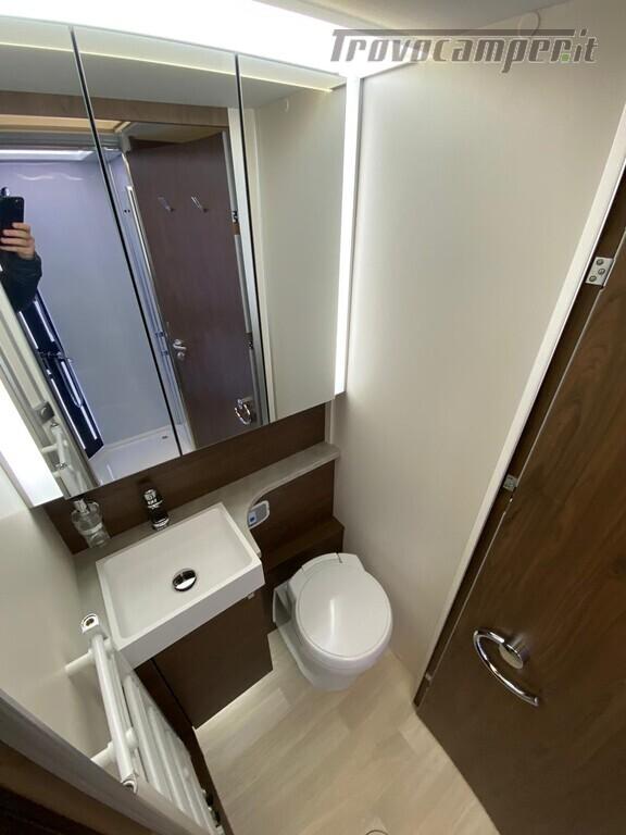 Motorhome Frankia I 7900 gd letti gemelli con doppio pavimento usato  in vendita a Trento - Immagine 12