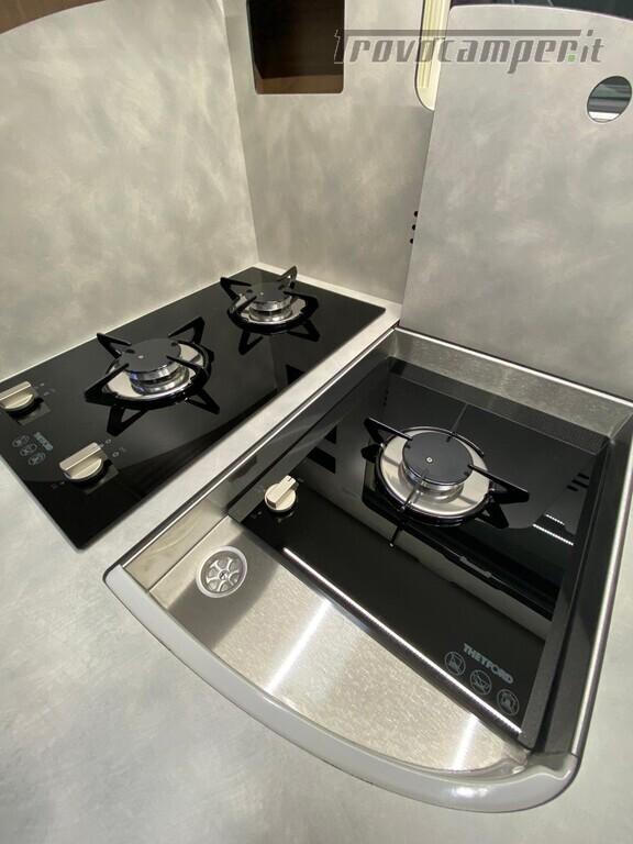 Motorhome Frankia I 7900 gd letti gemelli con doppio pavimento usato  in vendita a Trento - Immagine 14