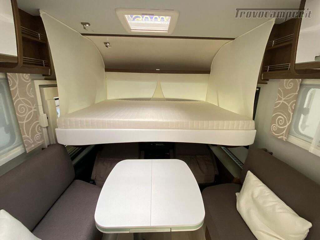 Motorhome Frankia I 7900 gd letti gemelli con doppio pavimento usato  in vendita a Trento - Immagine 15