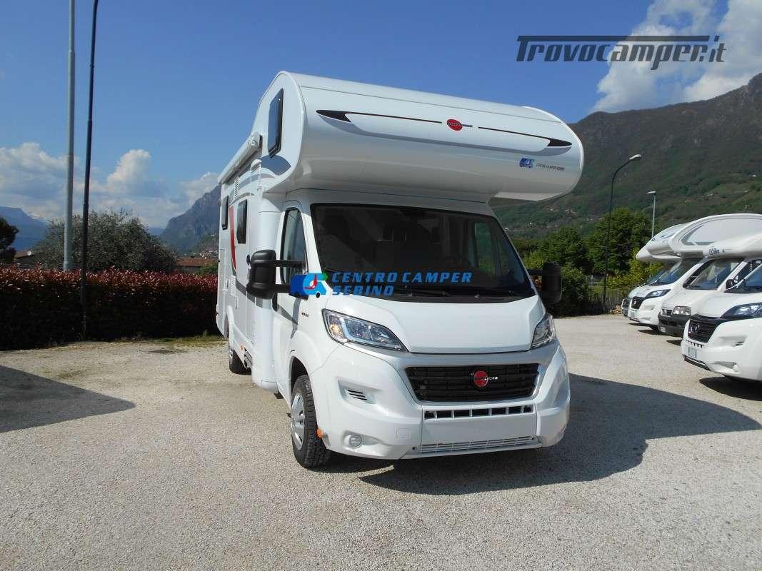 Noleggio Burstner Lyseo A 700 camper mansardato 6 posti con garage nuovo  in vendita a Brescia - Immagine 1
