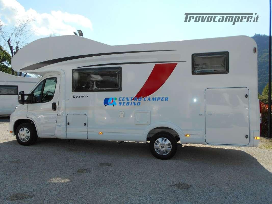 Noleggio Burstner Lyseo A 700 camper mansardato 6 posti con garage nuovo  in vendita a Brescia - Immagine 4