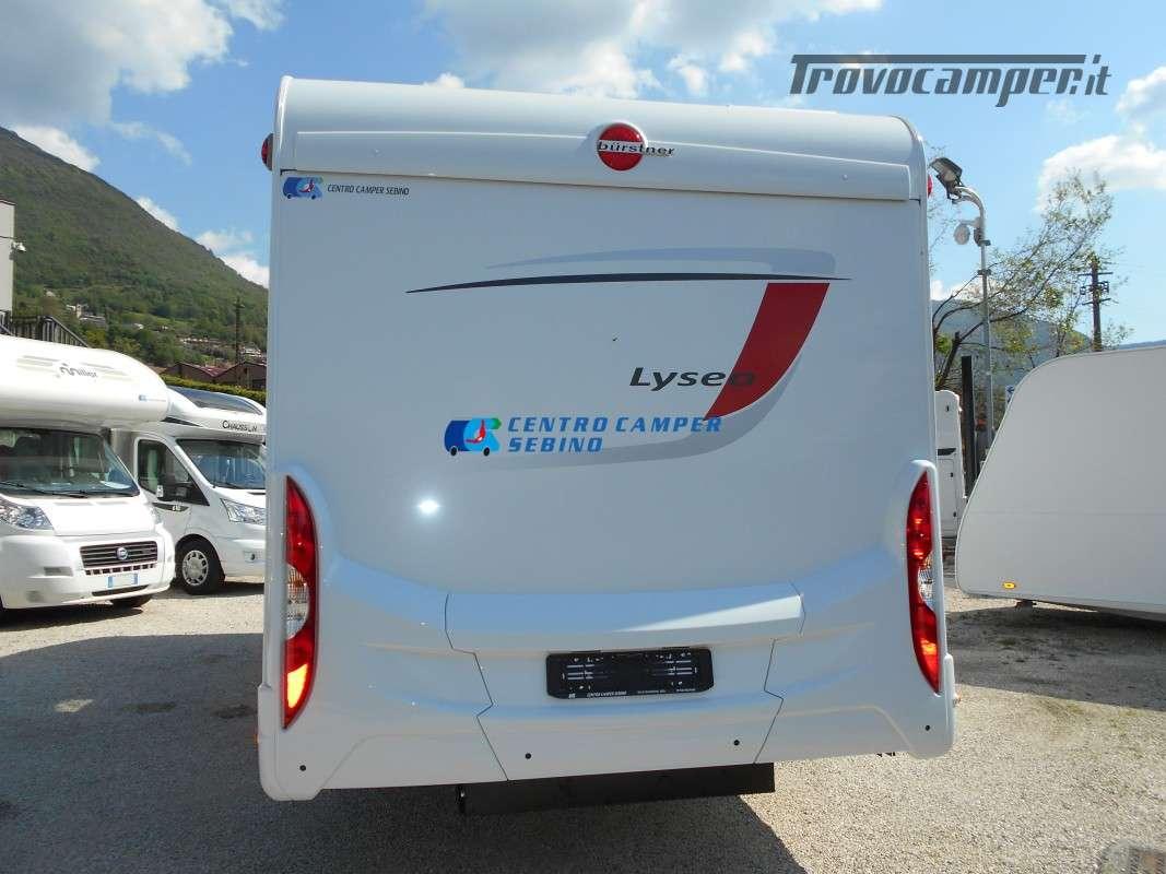 Noleggio Burstner Lyseo A 700 camper mansardato 6 posti con garage nuovo  in vendita a Brescia - Immagine 7