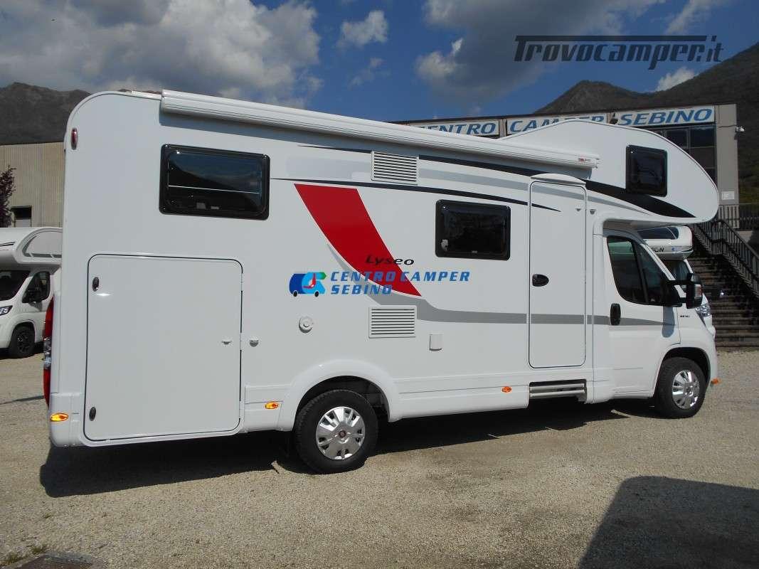 Noleggio Burstner Lyseo A 700 camper mansardato 6 posti con garage nuovo  in vendita a Brescia - Immagine 8