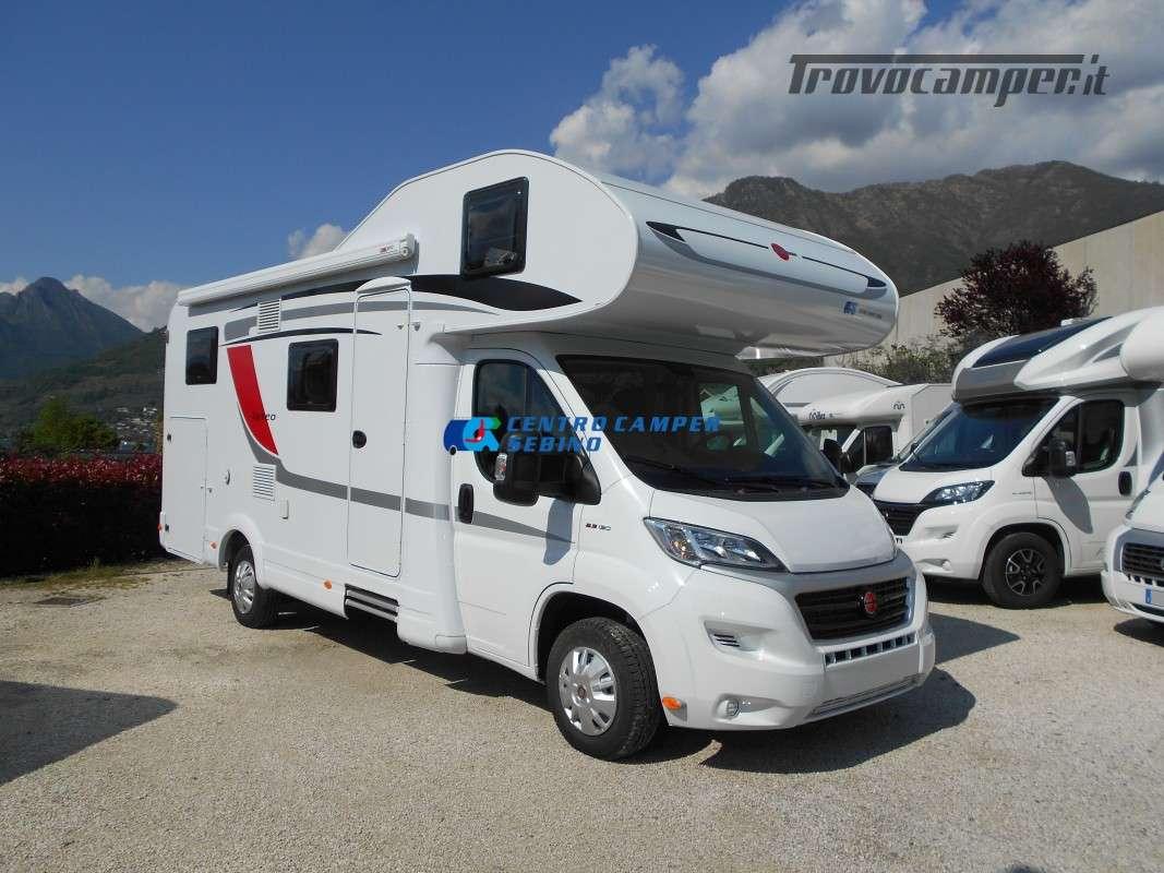 Noleggio Burstner Lyseo A 700 camper mansardato 6 posti con garage nuovo  in vendita a Brescia - Immagine 9