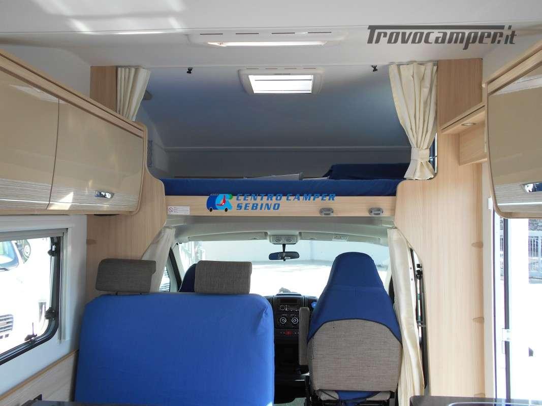 Noleggio Burstner Lyseo A 700 camper mansardato 6 posti con garage nuovo  in vendita a Brescia - Immagine 14