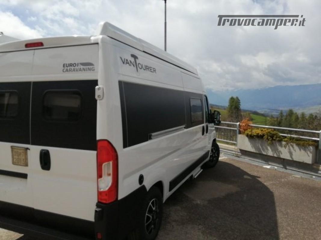 Camper puro VANTOURER 600D TETTO A SOFFIETTO, LETTO nuovo  in vendita a Trento - Immagine 7