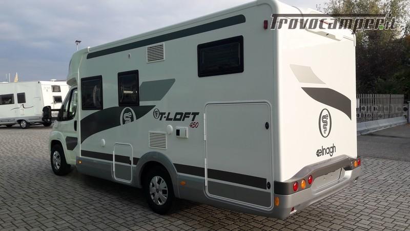 Semintegrale ELNAGH T-Loft 450 Modello 2019 usato  in vendita a Pavia - Immagine 4