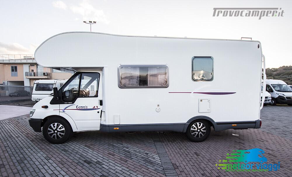 Camper Mansardato 6 Posti Challenger Genesis 43 nuovo  in vendita a Rimini - Immagine 2