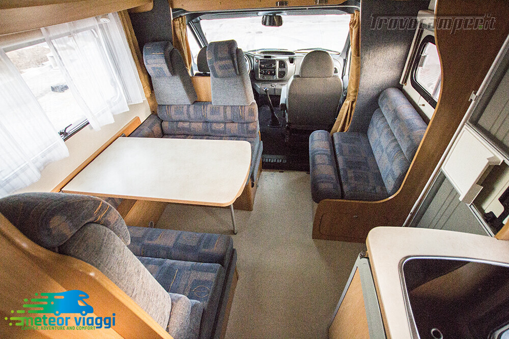 Camper Mansardato 6 Posti Challenger Genesis 43 nuovo  in vendita a Rimini - Immagine 8
