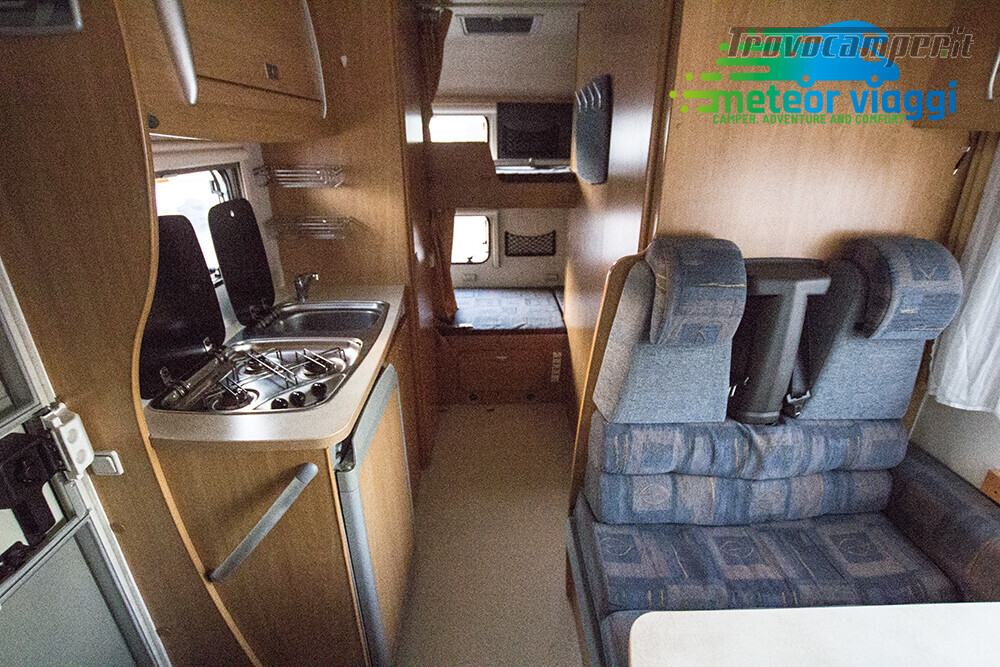 Camper Mansardato 6 Posti Challenger Genesis 43 nuovo  in vendita a Rimini - Immagine 9