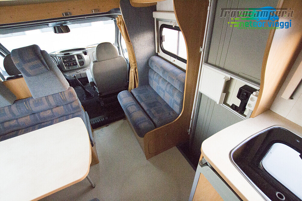 Camper Mansardato 6 Posti Challenger Genesis 43 nuovo  in vendita a Rimini - Immagine 10