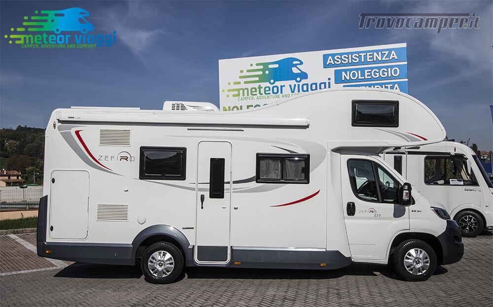 Mansardato Roller-Team Zefiro 277 6,99 Mt. 7 Posti Omologati nuovo  in vendita a Rimini - Immagine 2