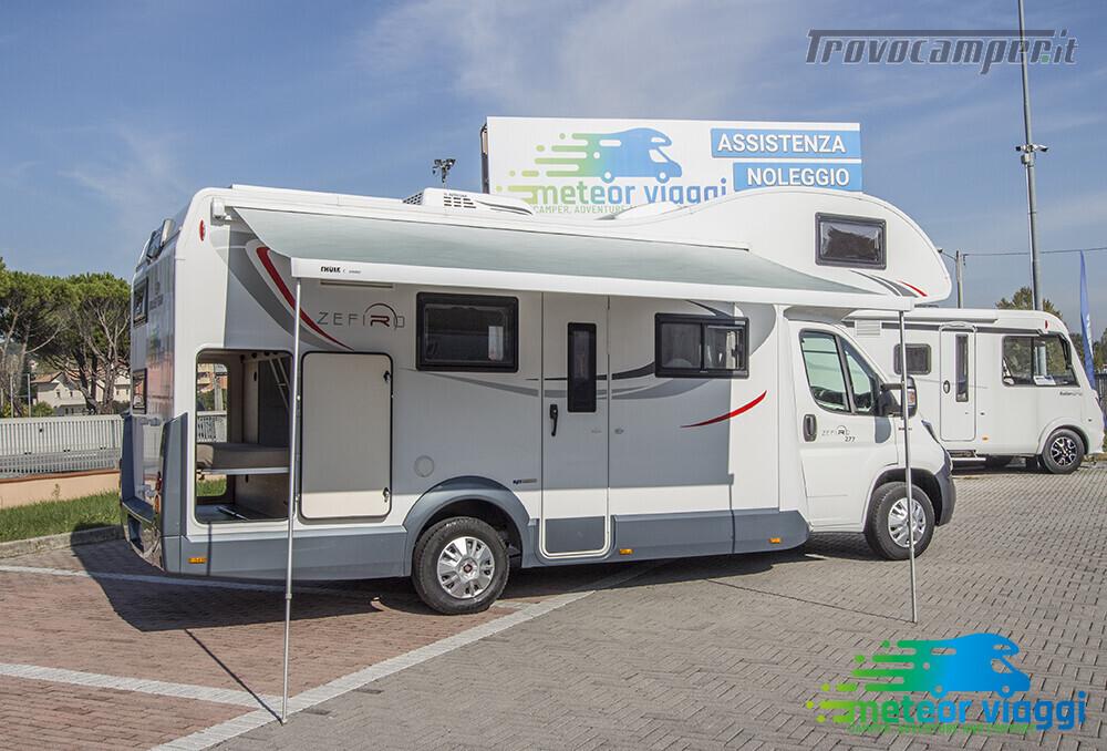 Mansardato Roller-Team Zefiro 277 6,99 Mt. 7 Posti Omologati nuovo  in vendita a Rimini - Immagine 5