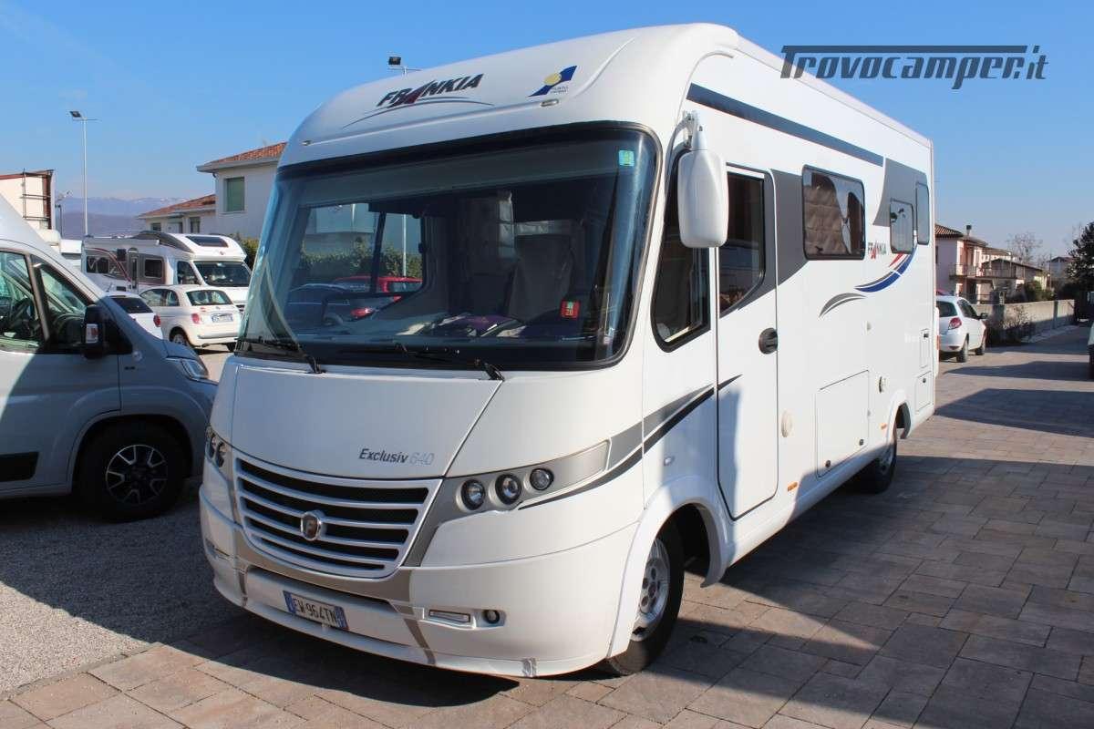 Motorhome Frankia I640 Exlusiv usato  in vendita a Treviso - Immagine 1