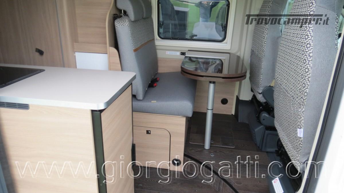 Camper puro Laika Kosmo Campervan 6.0 con soffietto e veranda nuovo  in vendita a Alessandria - Immagine 24
