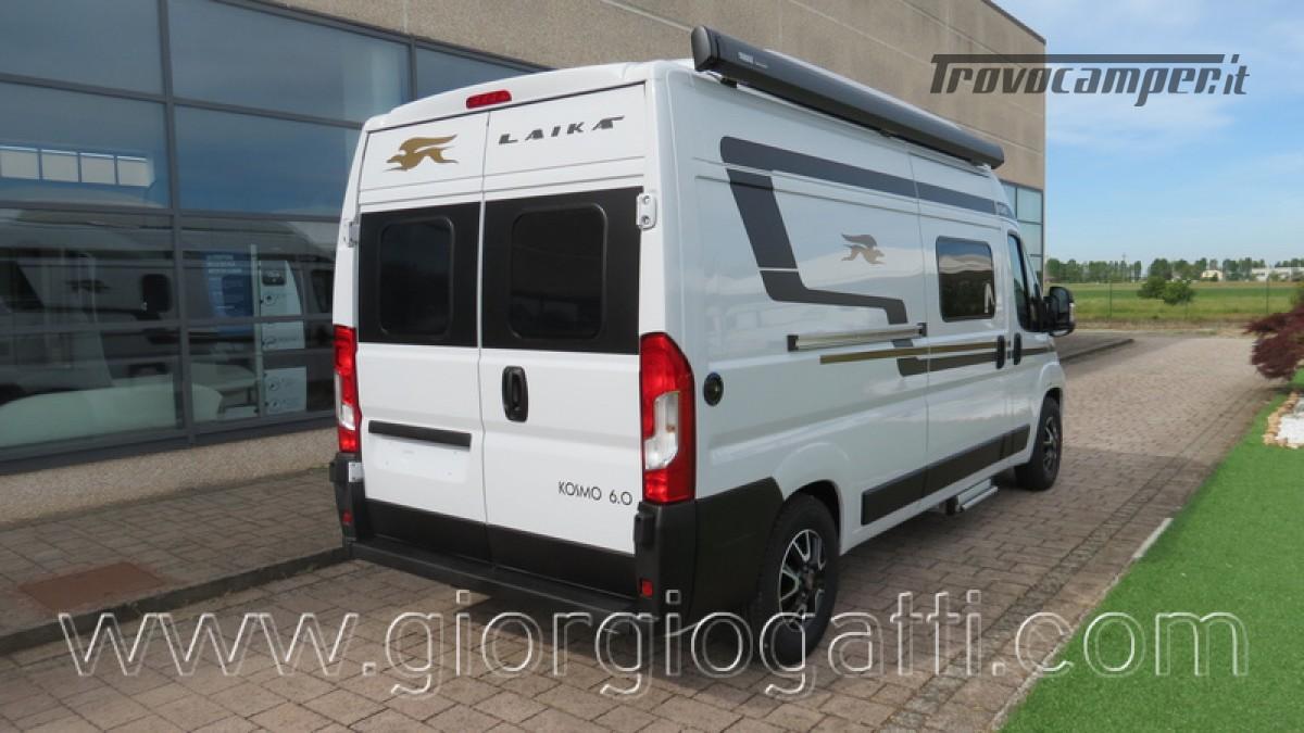 Camper puro Laika Kosmo Campervan 6.0 con soffietto e veranda nuovo  in vendita a Alessandria - Immagine 25