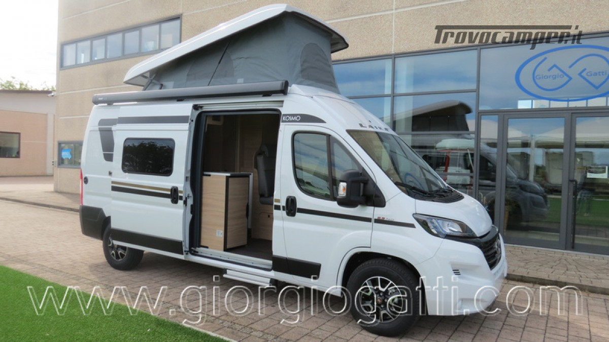 Camper puro Laika Kosmo Campervan 6.0 con soffietto e veranda nuovo  in vendita a Alessandria - Immagine 28